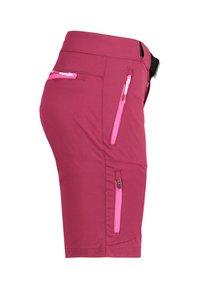Meru - PORTO - Sports shorts - plum - 3
