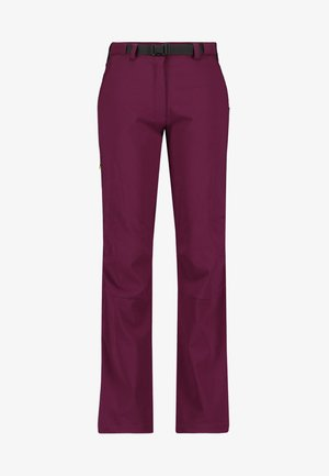 Outdoor trousers - bordeaux