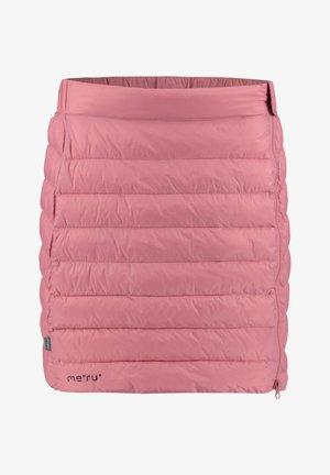 GANDER - Sports skirt - rose