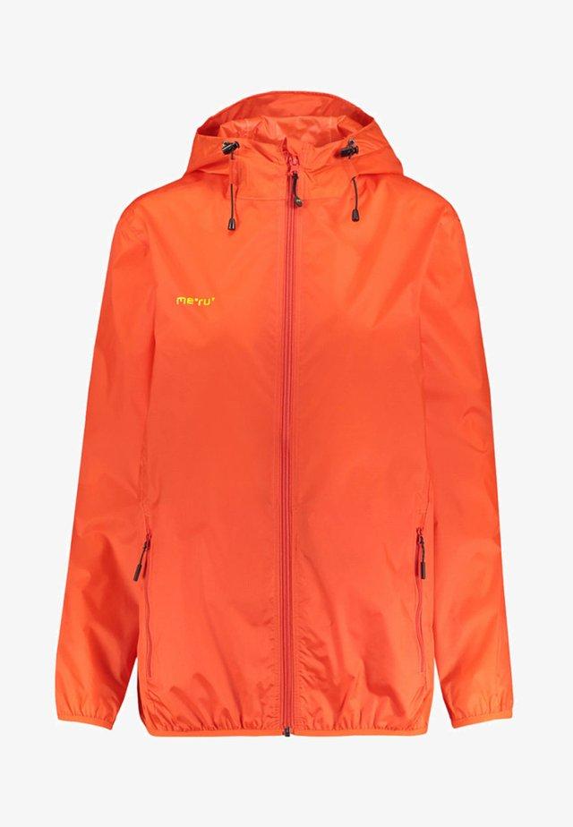 MIMIZAN - Waterproof jacket - orange