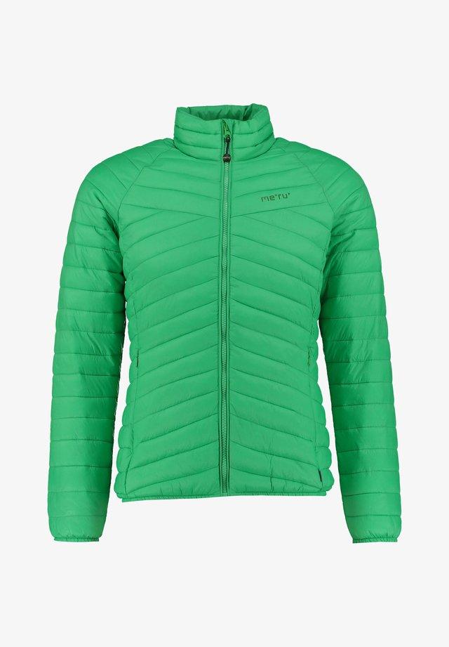 "MERU DAMEN STEPPJACKE ""COLLINGWOOD"" - Winter jacket - grün (400)"