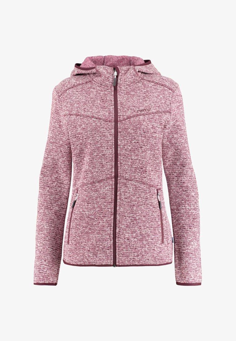 Meru - Fleece jacket - aubergine