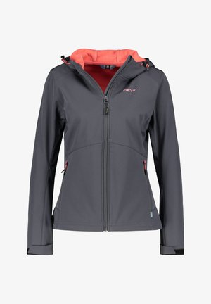 BREST - Soft shell jacket - dunkelgrau (229)