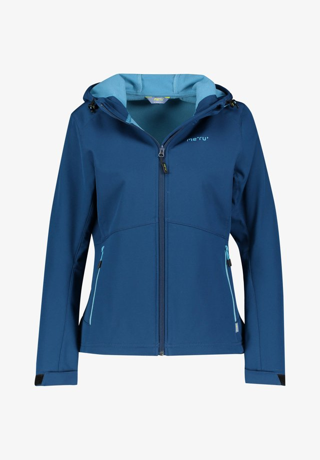 BREST - Soft shell jacket - blau (296)