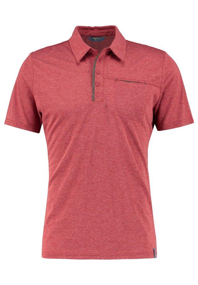 HERREN GRASSE KURZARM - Sports shirt - red
