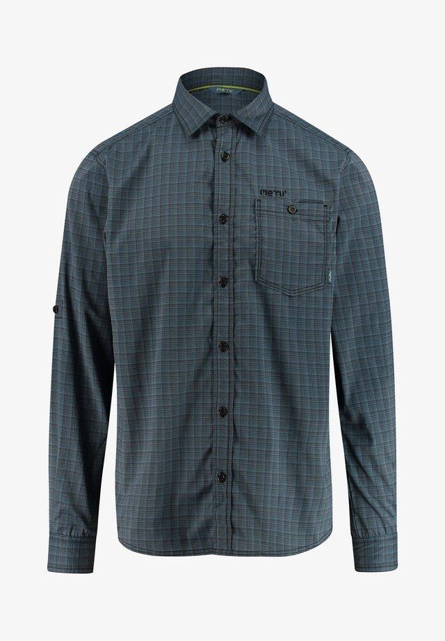 PEANIA - Shirt - anthracite