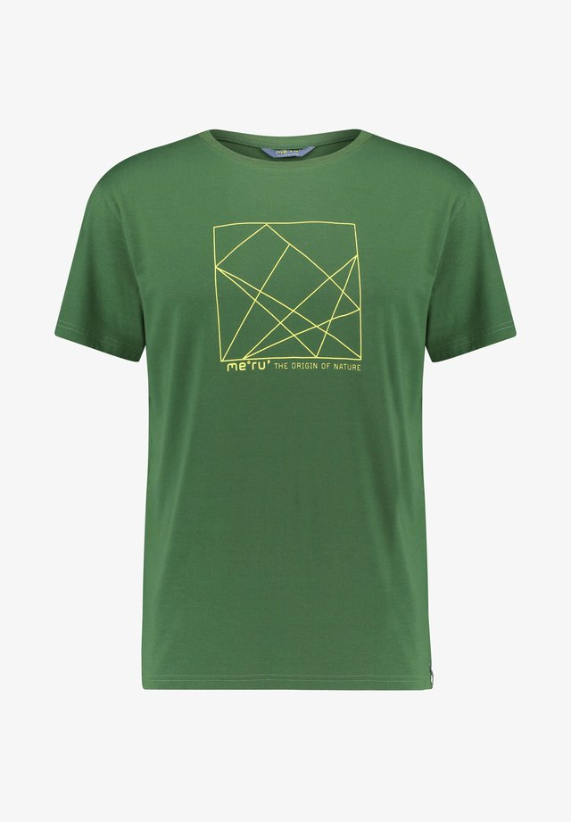 SKIROS - Print T-shirt - grün (400)