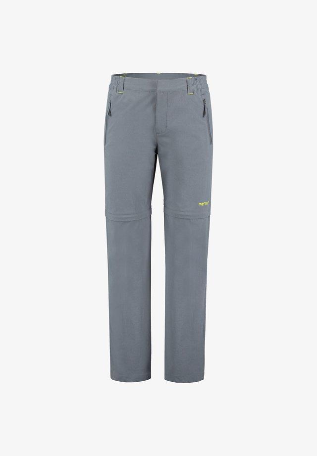 """MERU HERREN ZIPP-OFF-HOSE """"HAVELOCK"""" - Trousers - dark grey"""