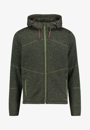 MALMÖ - Fleece jacket - olive
