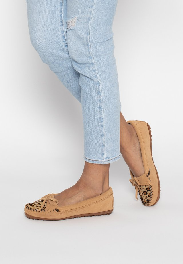 LEOPAD KILTY  - Moccasins - taupe