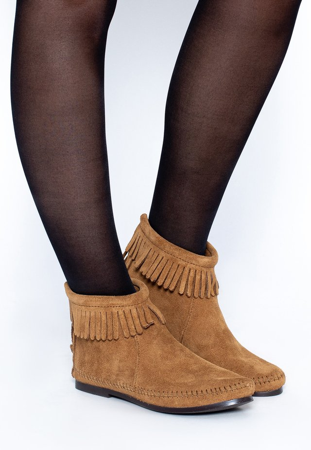 Korte laarzen - cinnamon