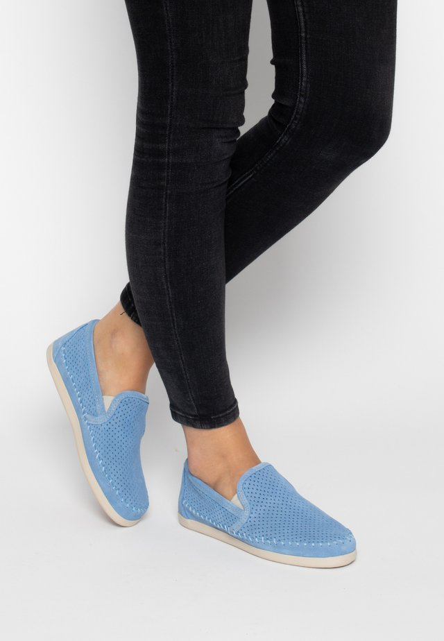 PACIFIC  - Slip-ons - sky blue