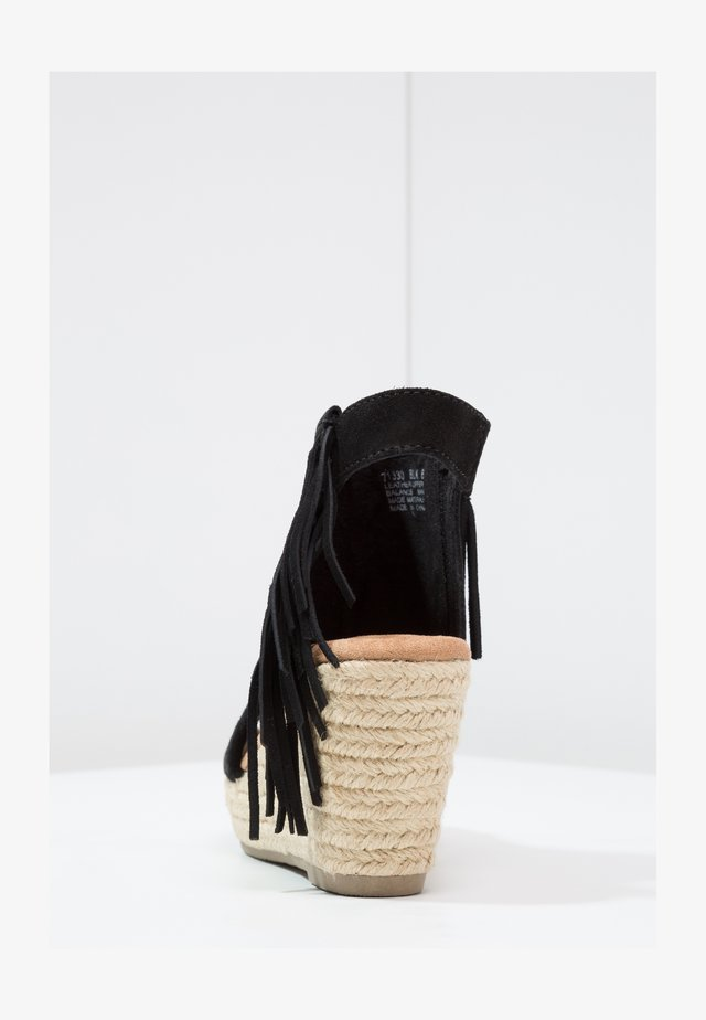 BLAIRE - High heeled sandals - black