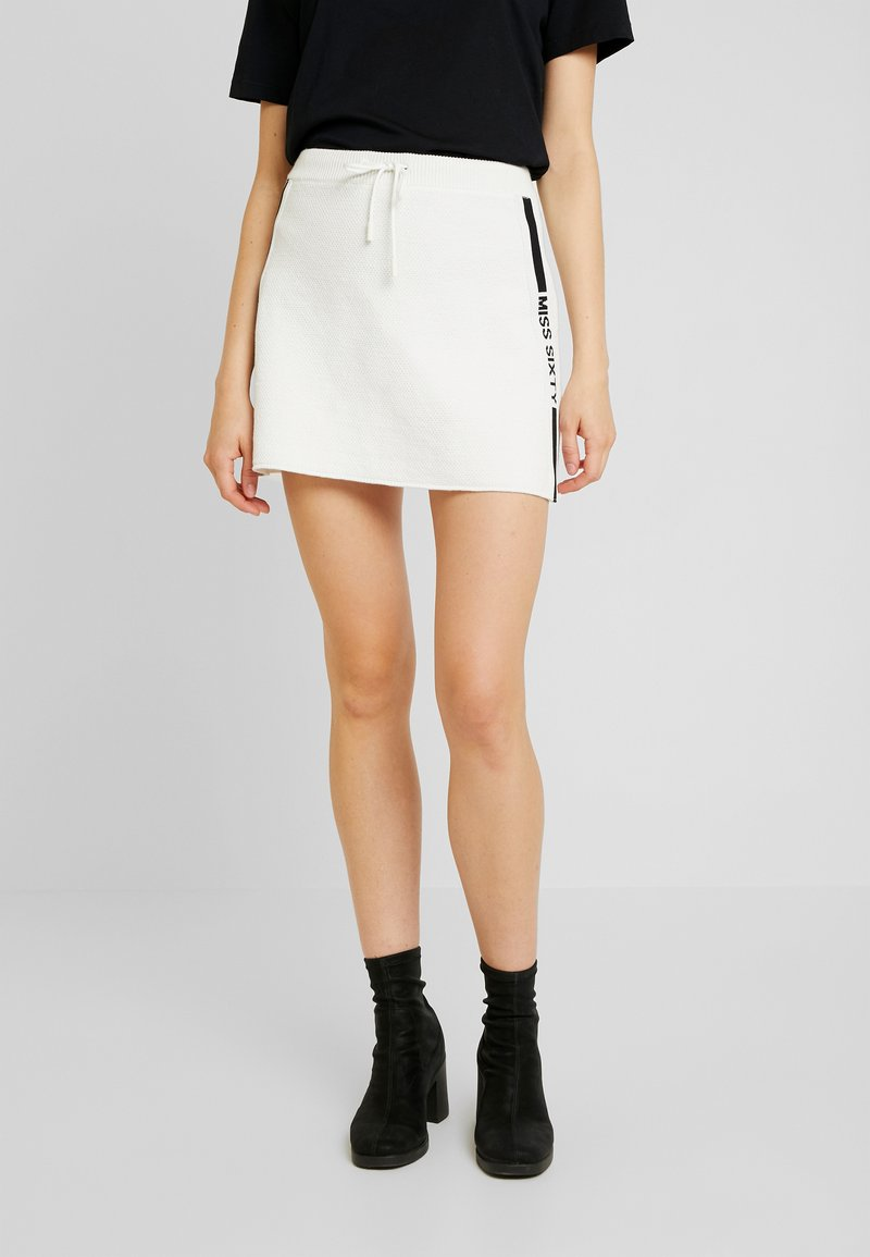 Miss Sixty - SKIRT - A-line skirt - off white