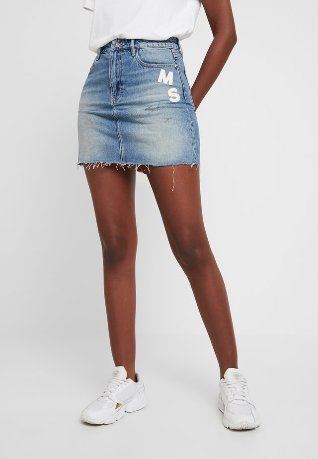SKIRT - Denim skirt - blue denim