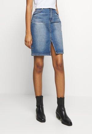 SKIRT - Falda de tubo - light blue