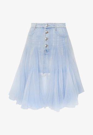 SKIRT - A-lijn rok - light blue