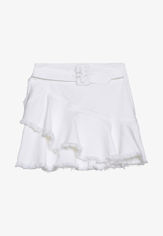 Mini skirts  - white