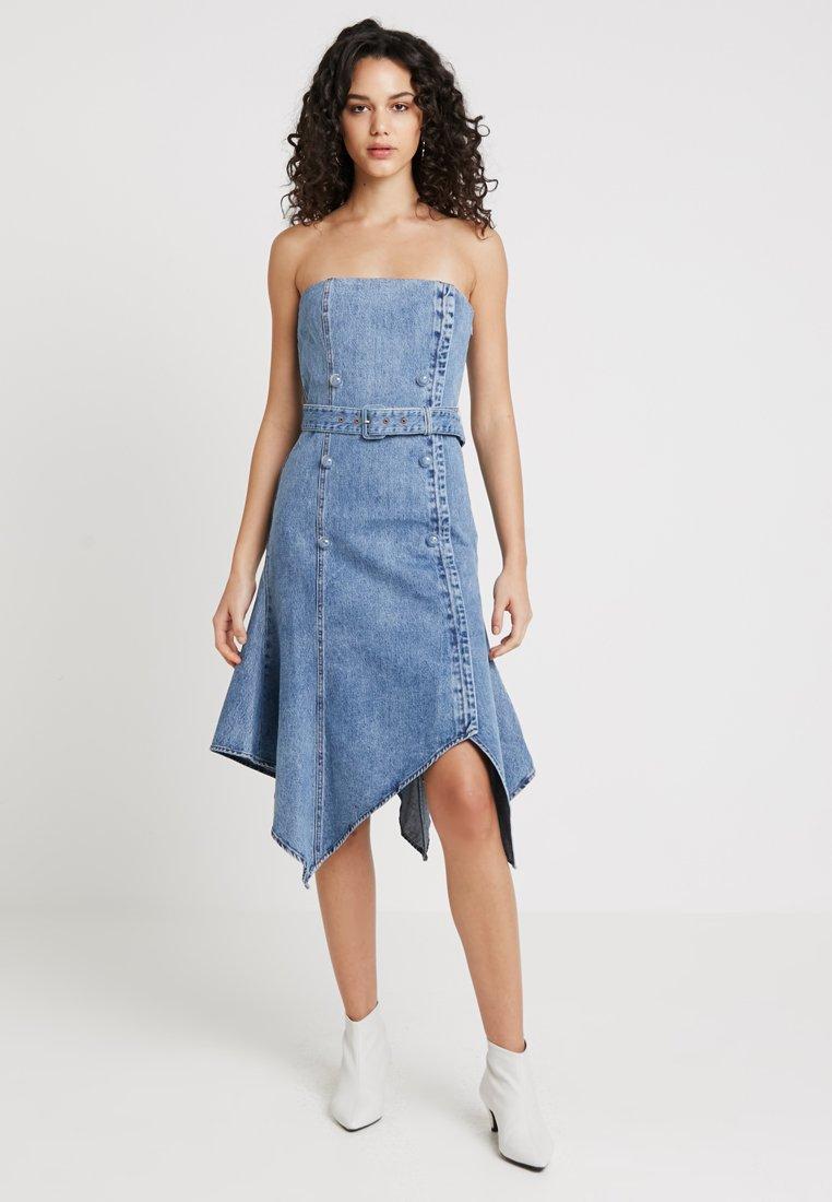 Miss Sixty - CAMRON DRESS - Jeansklänning - blue denim