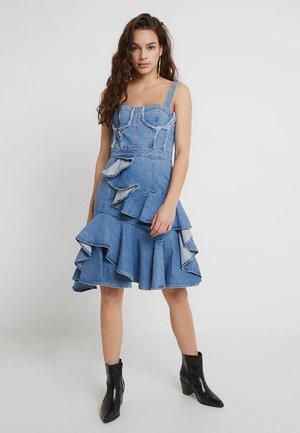 HECTOR DRESS - Vestido vaquero - blue