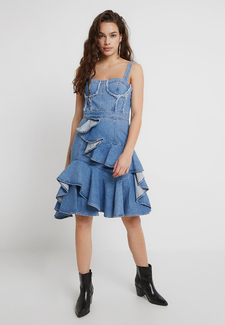 Miss Sixty - HECTOR DRESS - Denim dress - blue