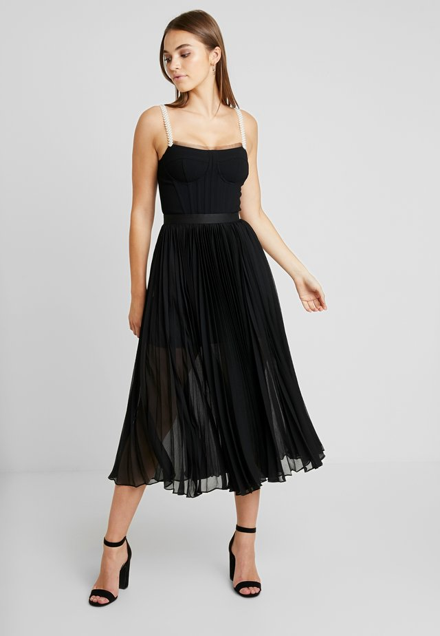 DRESS - Cocktailklänning - black
