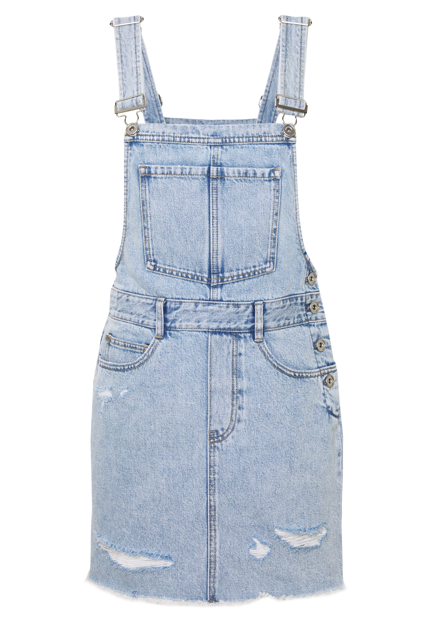 Miss Sixty DRESS - Sukienka jeansowa - light blue