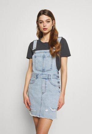 DRESS - Denimové šaty - light blue