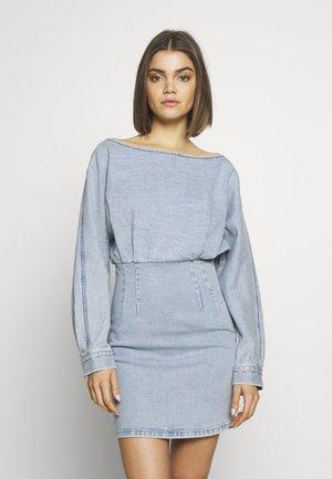 Vestido vaquero - light blue