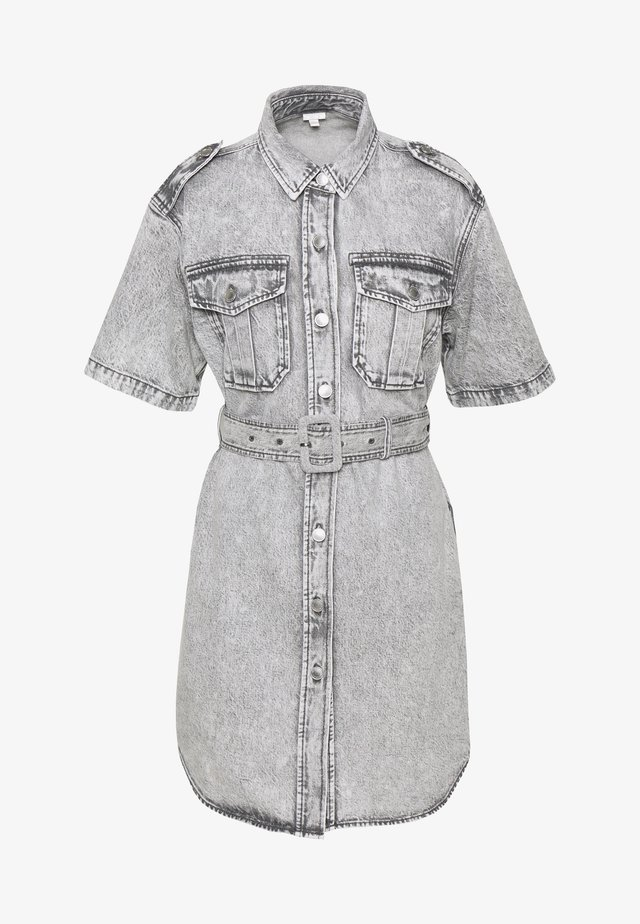DRESS - Jeanskjole / cowboykjoler - grey