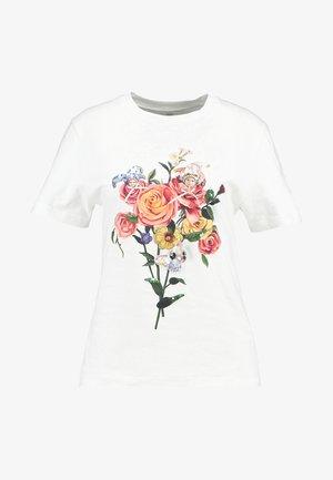 FINLEY - T-shirt print - bright white