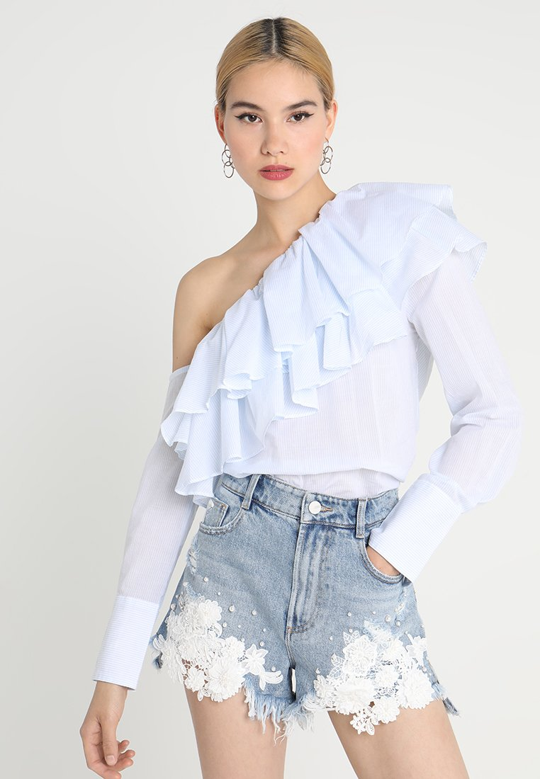 Miss Sixty - MARTHA - Bluse - blue/white