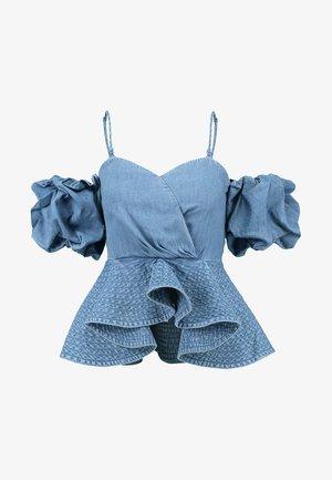 ALONSO - Blouse - blue denim