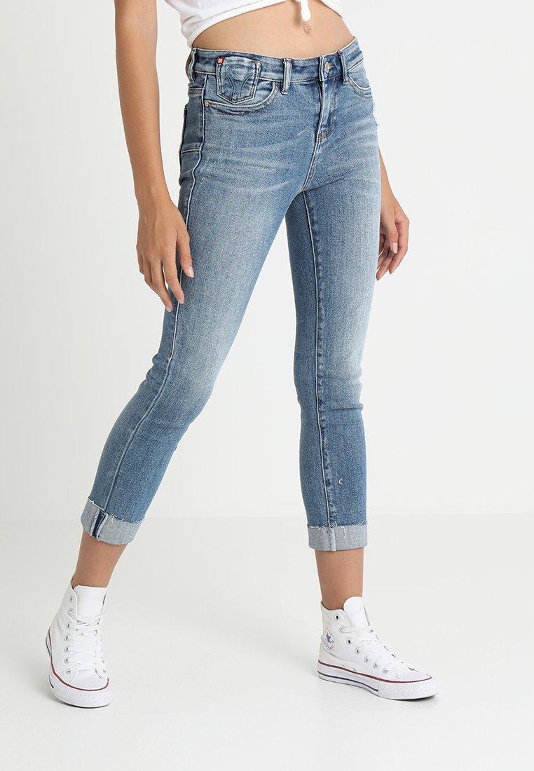 Miss Sixty - HARLAN TROUSERS - Slim fit jeans - blue denim