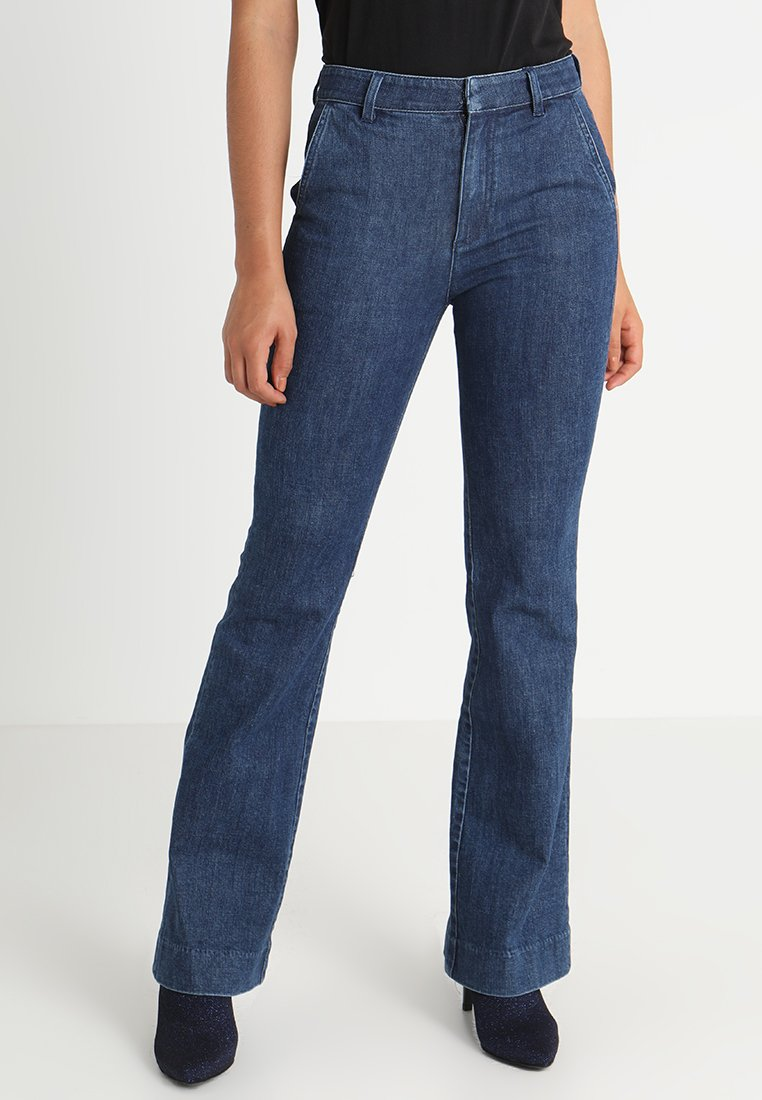 Miss Sixty - EVERRETT TROUSERS - Flared Jeans - blue denim
