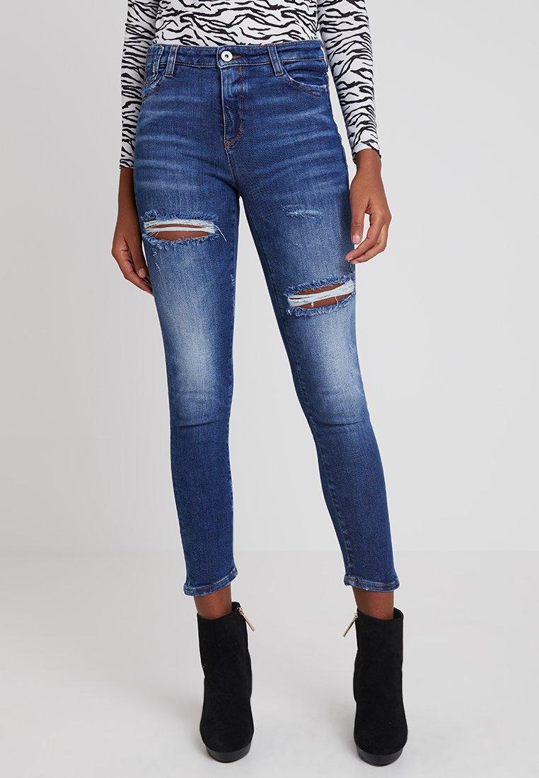 Miss Sixty - MY MAGIC CROPPED - Jeans Skinny Fit - blue denim