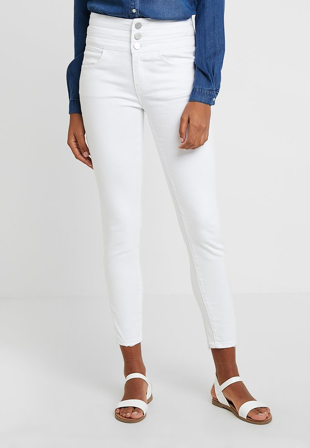 ATTACK CROPPED - Jeans Skinny Fit - white