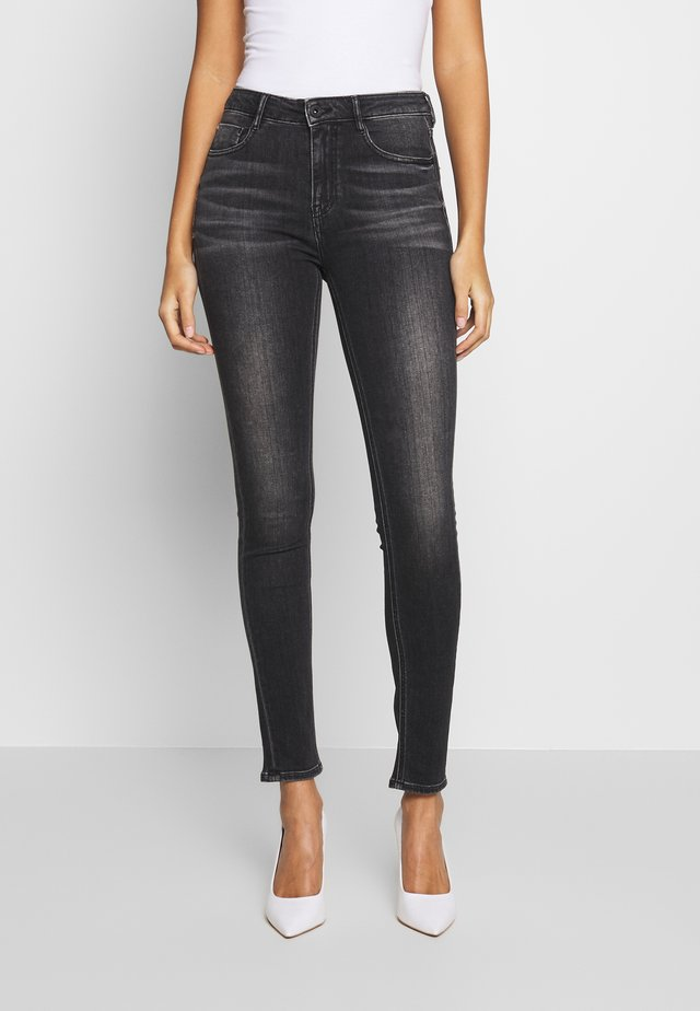 SOUL CROPPED - Jeans Skinny Fit - black fog