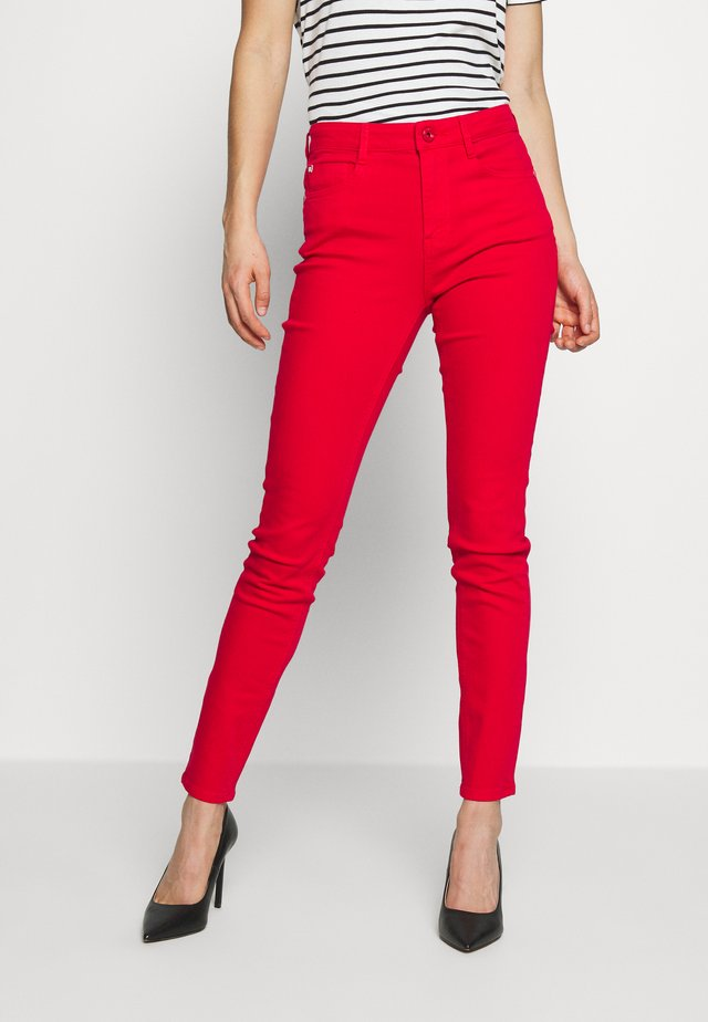 SOUL CROPPED - Jeans slim fit - bright red