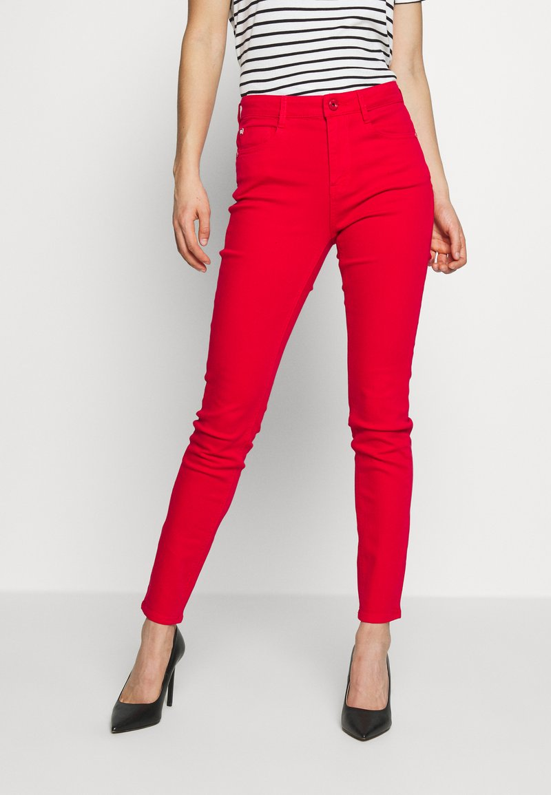 Miss Sixty - SOUL CROPPED - Jeans slim fit - bright red
