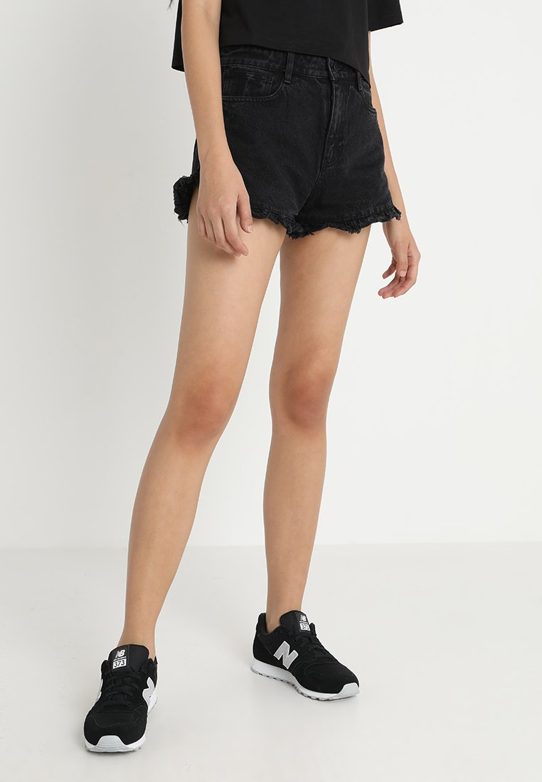 Miss Sixty - RAINES - Jeansshort - black
