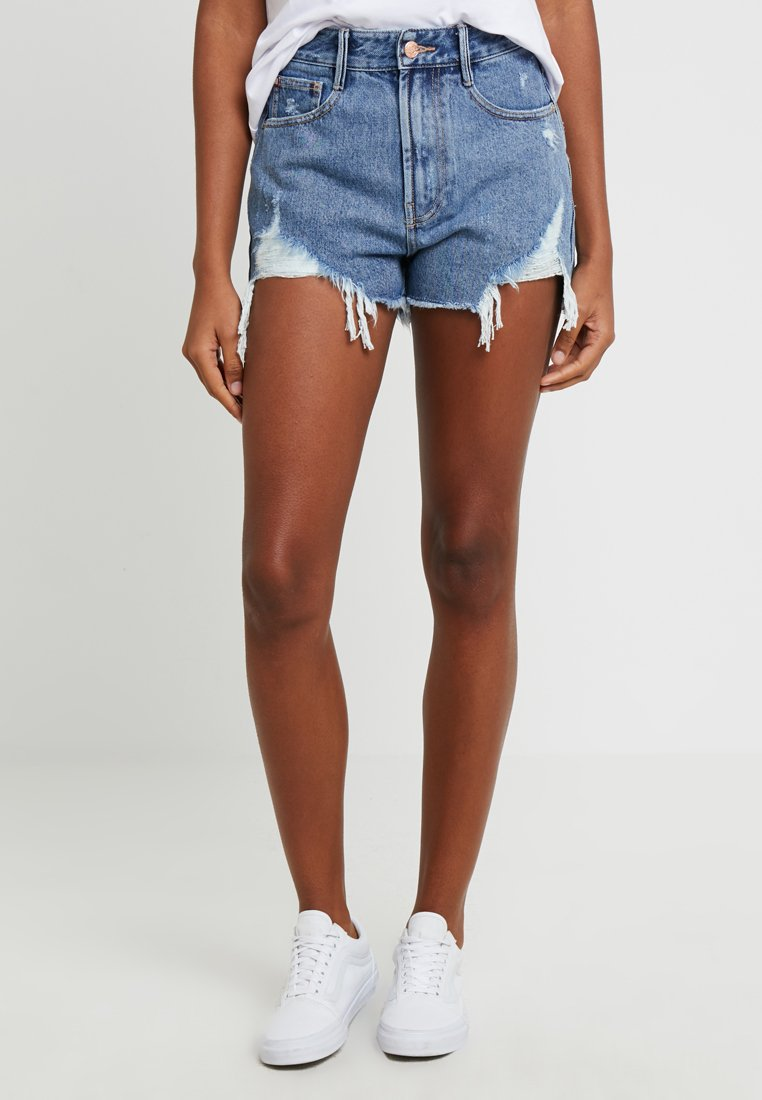 Miss Sixty - RONNIE TROUSERS - Shorts di jeans - blue denim