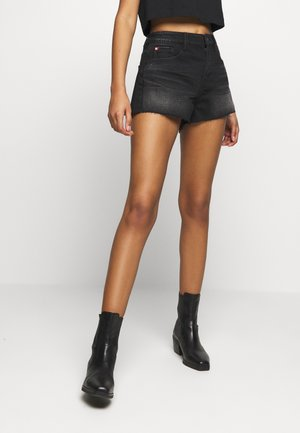 Shorts di jeans - black fog