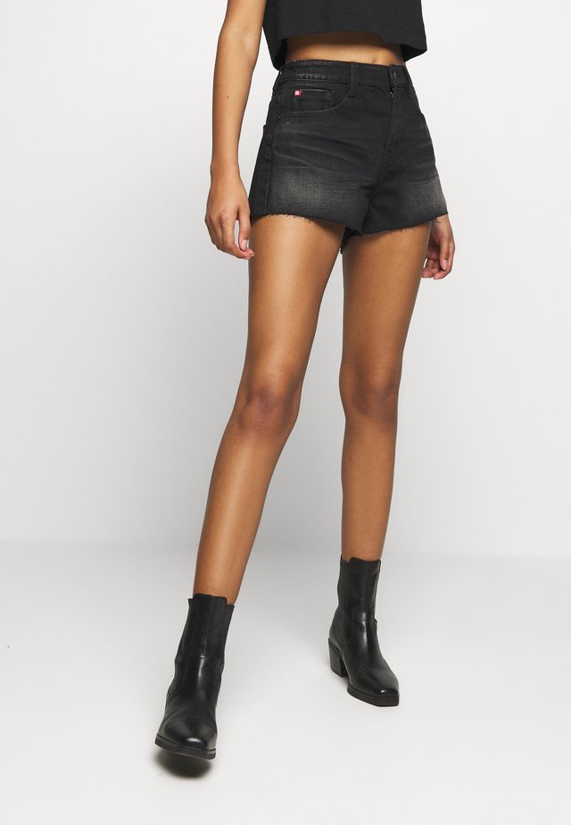 Short en jean - black fog