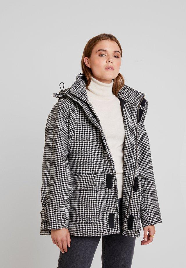 JACKET - Light jacket - black/white