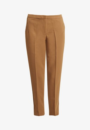 HALLEE - Trousers - tobacco brown