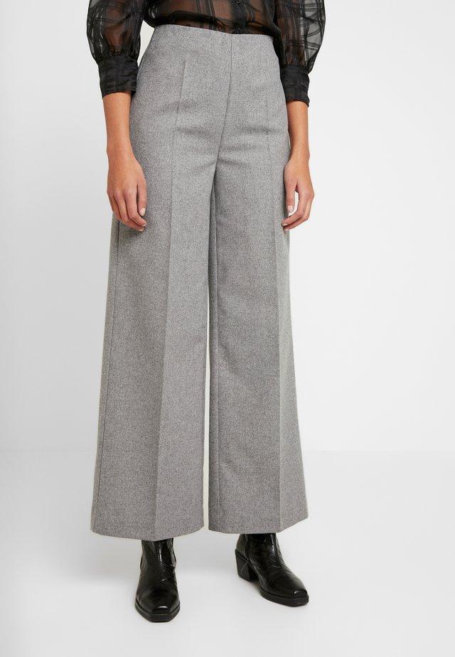 POLOMA PANT - Pantalon classique - light grey melange