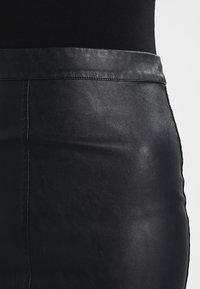 Minimum - TILLA  - Minikjol - black - 3