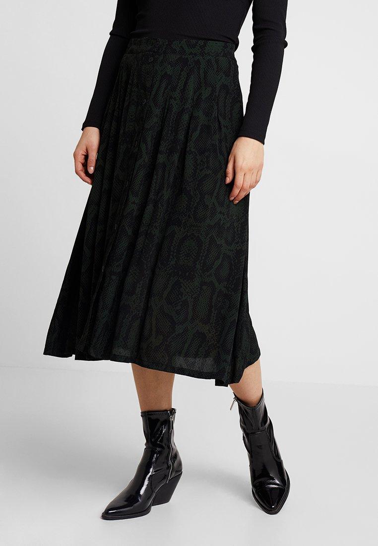 Minimum - KEJSA SKIRT - A-line skirt - racing green