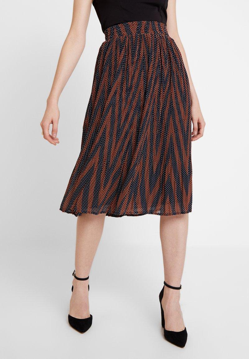Minimum - VINETTA - A-line skirt - navy blazer